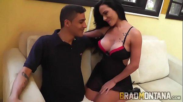 Morena trepando com amante no motel